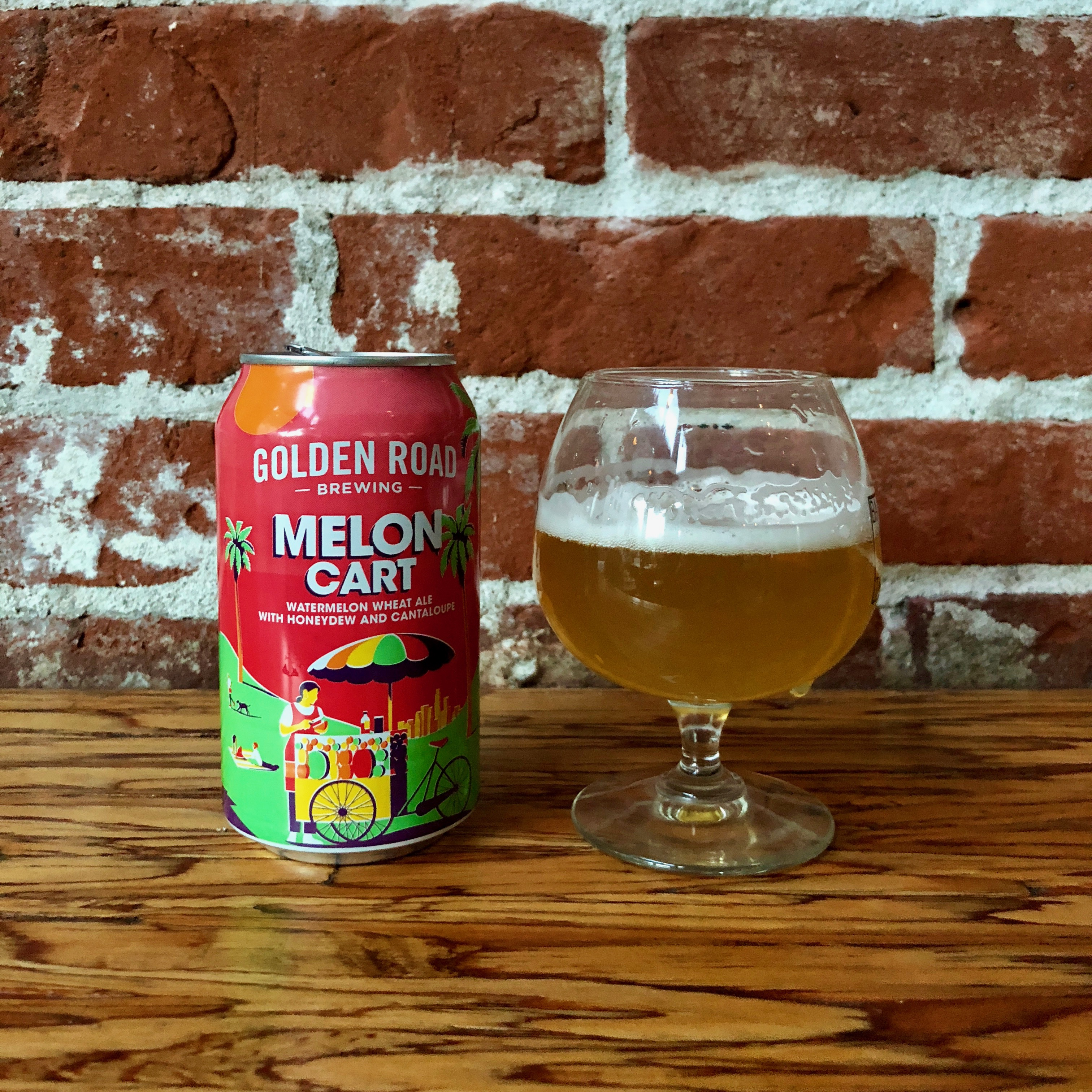 Golden Road Brewing Launches Melon Cart
