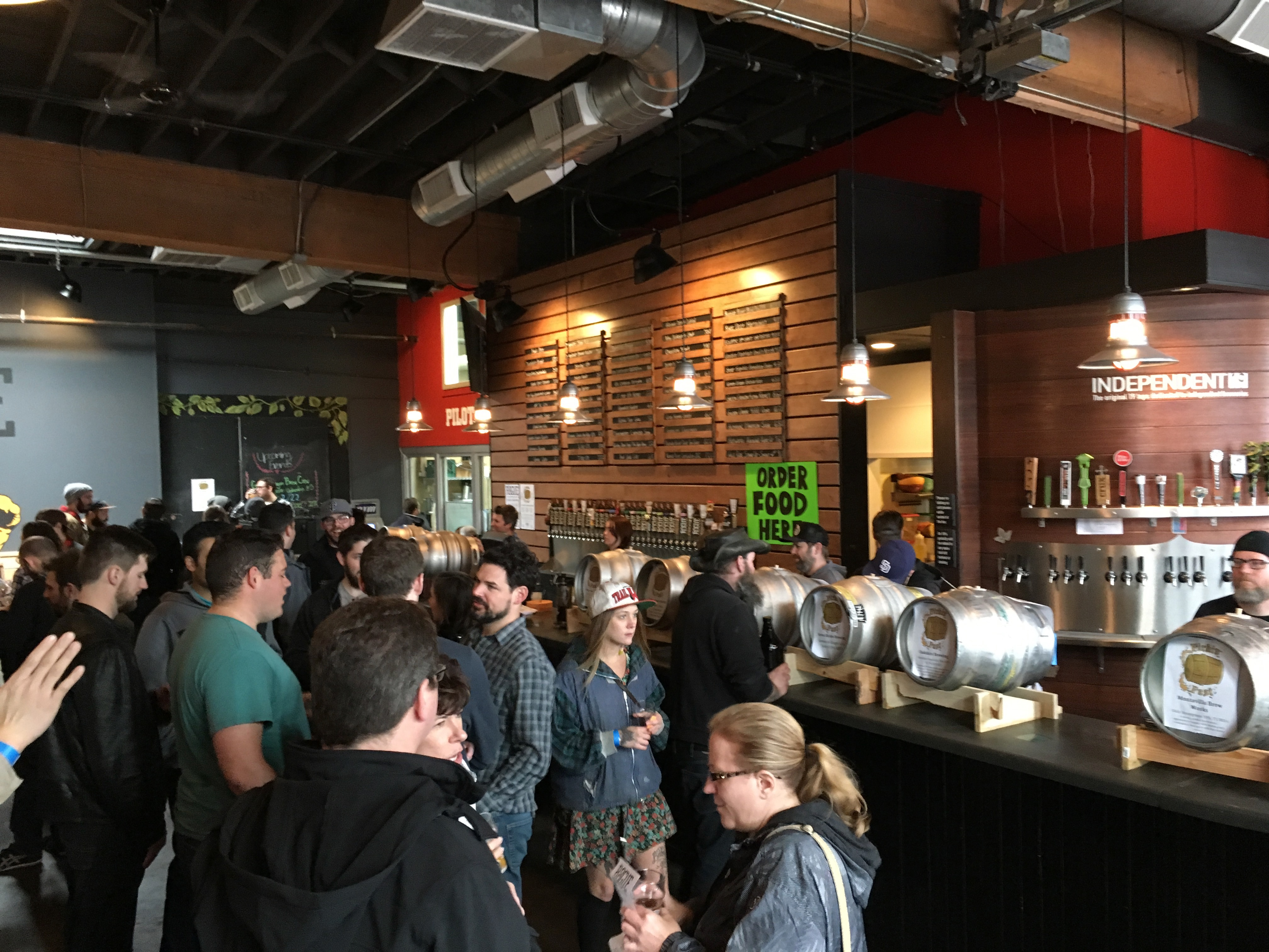 2017 Firkin Fest at Rogue Eastside Pub & Pilot Brewery.