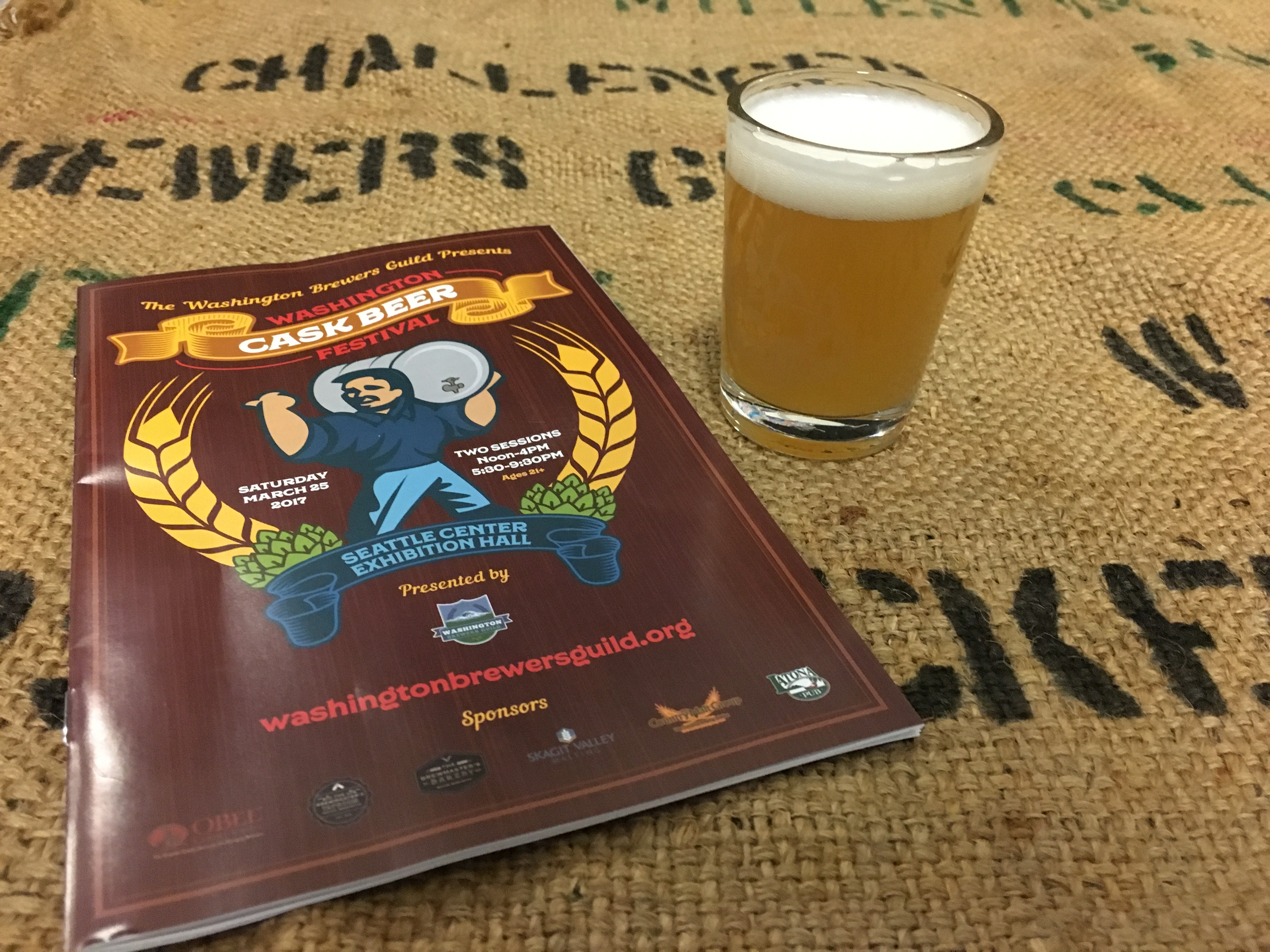 2017 Washington Cask Beer Festival was another favorite of ours. Its always worth making the trip to Seattle for this festival.