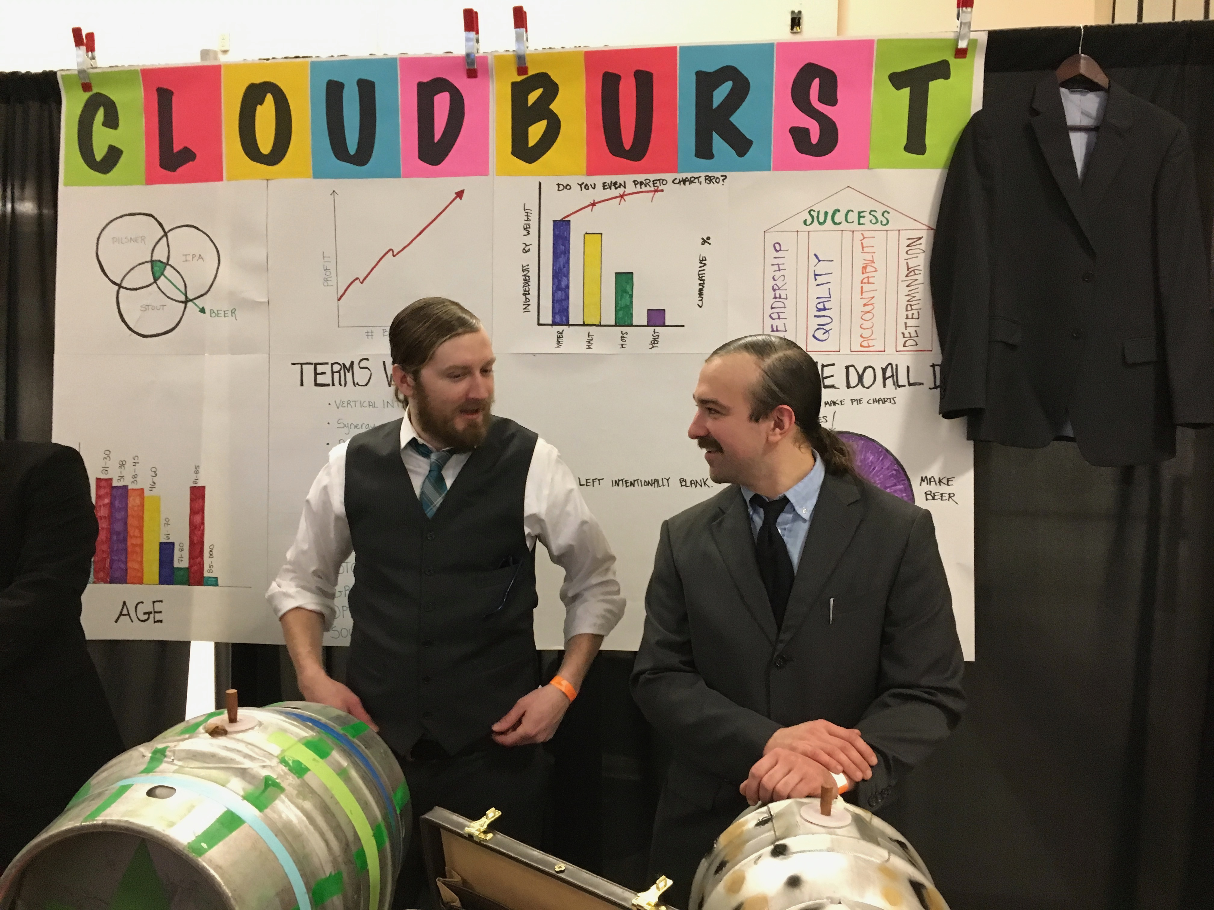 Cloudburst Brewing at the 2017 Washington Cask Beer Fest.
