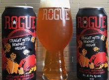 Rogue Ales releases Straight Outta Newport...Oregon in 16 ounce Tall Boy cans.