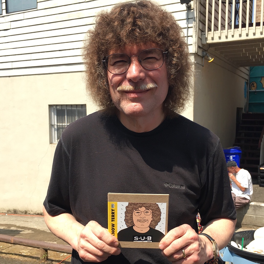 Sub Pop Records made a Terry Currier CD honoring the Portland music legend.