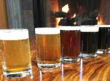 image of fruit beers courtesy of Lompoc Brewing
