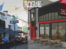 A now and future look of Rogue Distillery & Public House. (image courtesy of Rogue Ales)