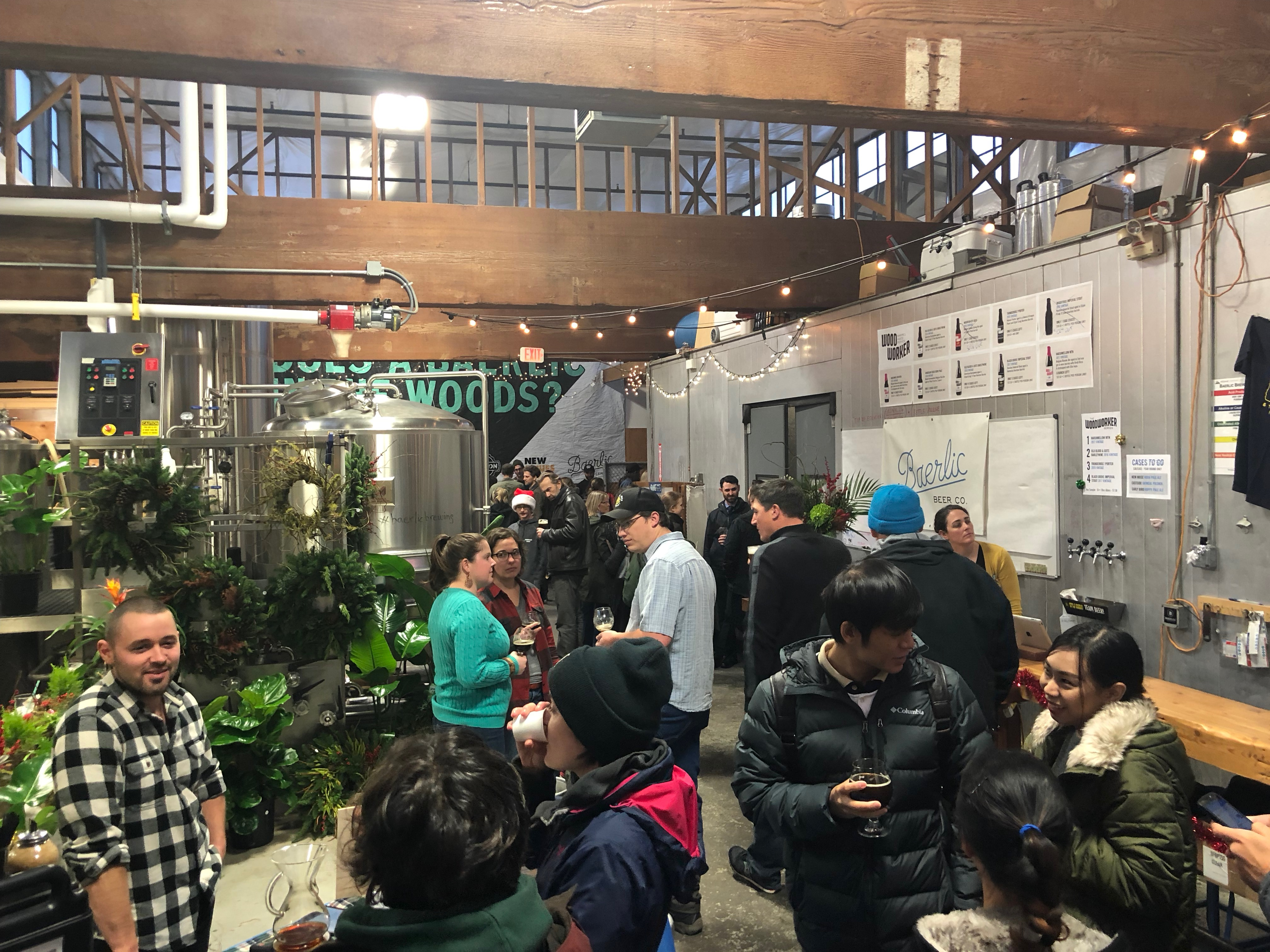 Baerlic Brewing once again hosted its WoodWorker Market in early December.