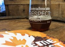 Firestone Walker Scotch Parabola at BeerAdvocate Extreme Beer Fest in Los Angeles.