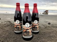 Love, Lost At Sea, a barrel-aged American Barleywine will be released on Valentine's Day at the Buoy Beer Co. Taproom. (image courtesy of Buoy Beer)