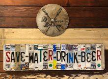 Save Water Drink Beer at Dry River Brewing in Los Angeles.