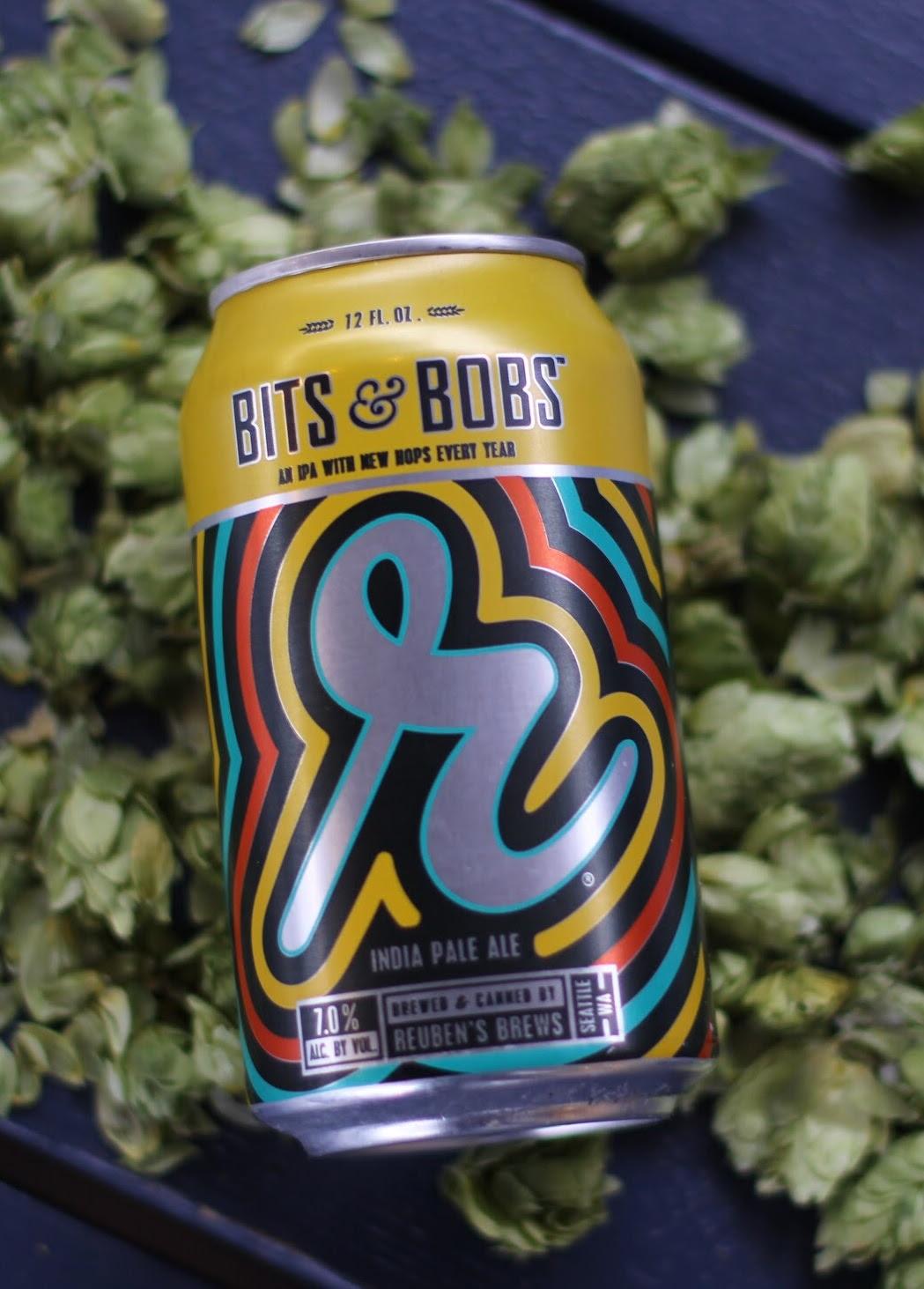 image of Bits & Bobs IPA courtesy of Reuben's Brews