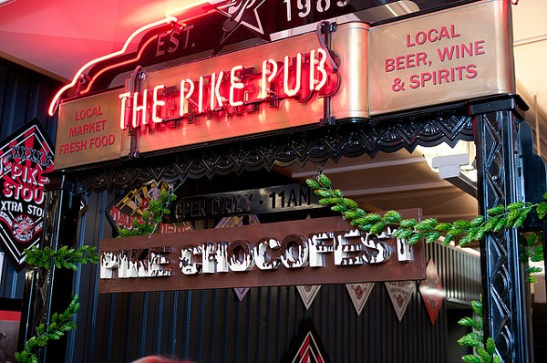 image of Pike Chocofest courtesy of Pike Brewing