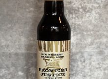 image of Rye Whiskey Barrel - Aged Frontier Justice Coffee Stout courtesy of Three Creeks Brewing