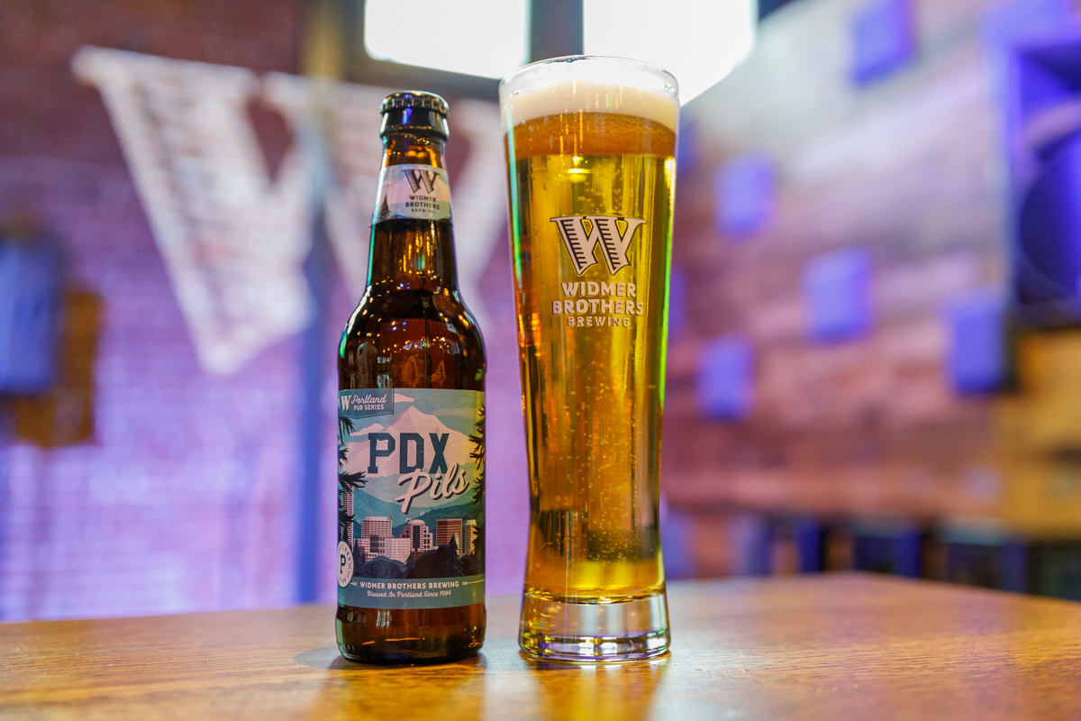 image of PDX Pils courtesy of Widmer Brothers Brewing