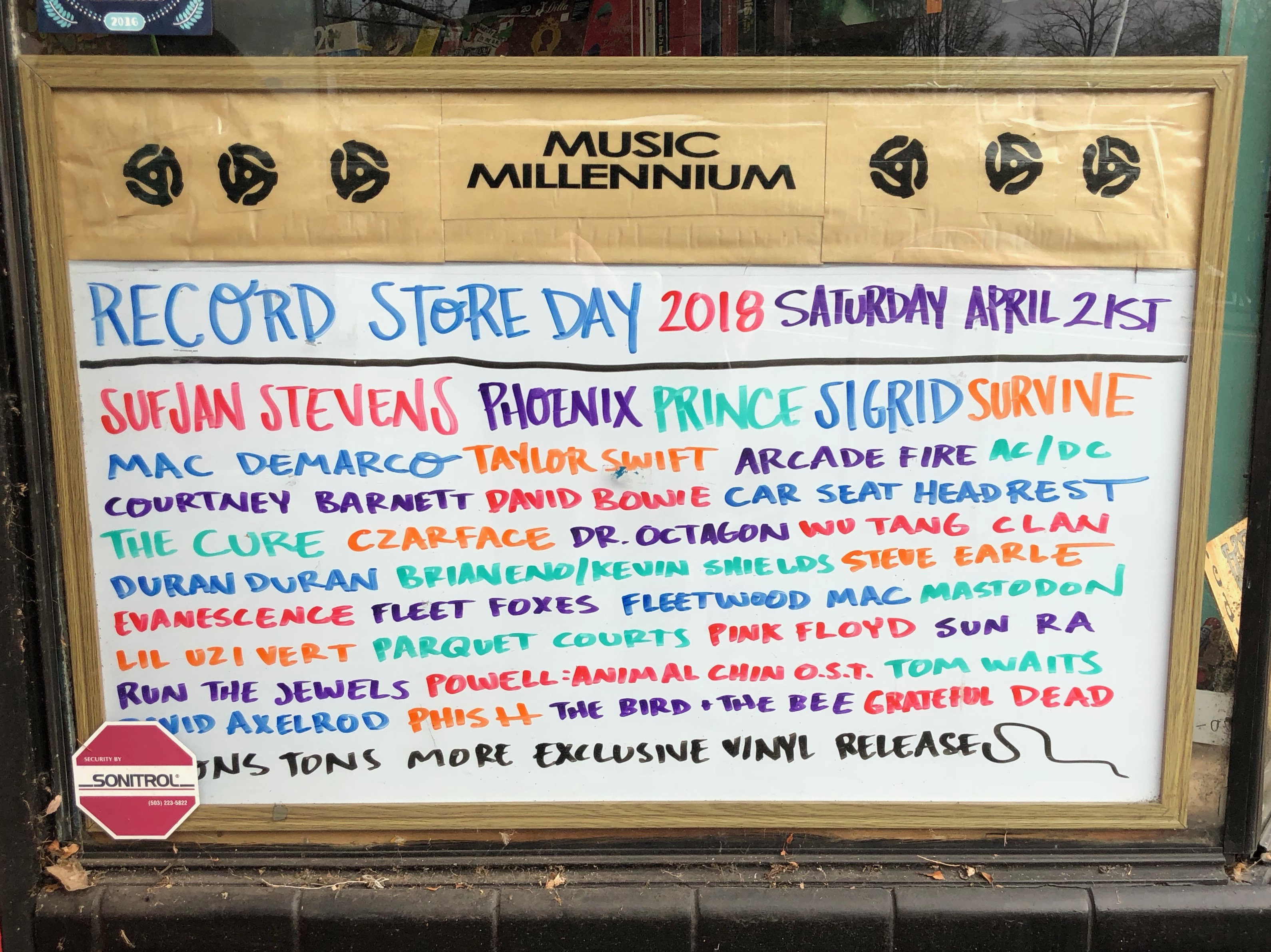2018 Record Store Day is coming up on April 21st at Music Millennium.