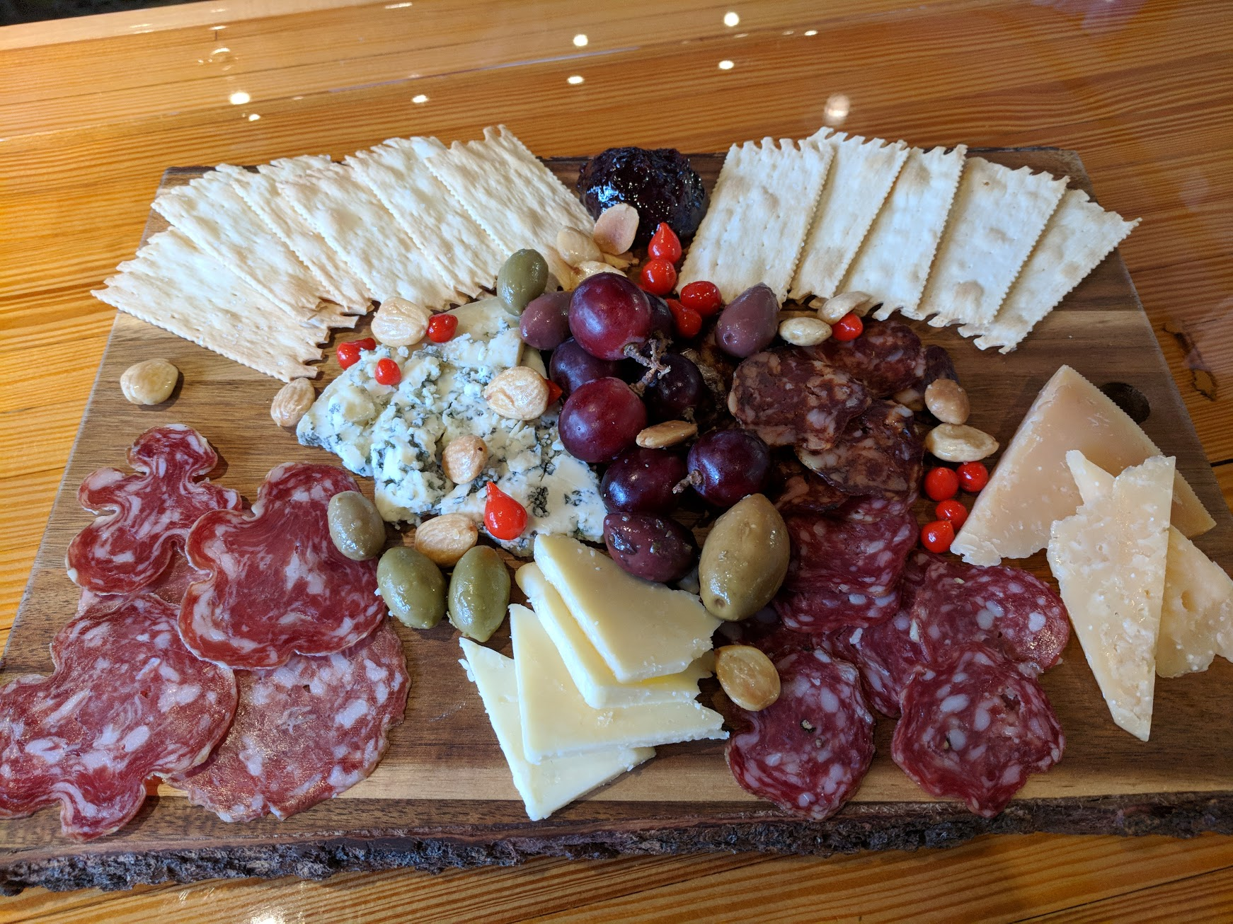 Domestic Charcuterie Board at Von Ebert Brewing. (photo by Nick Rivers)