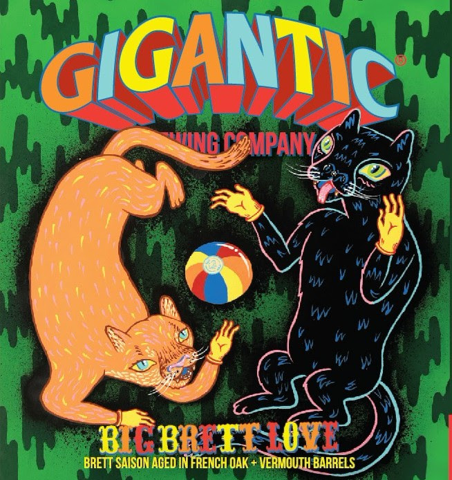 Gigantic Brewing Big Brett Love Collaboration with Alesong Brewing