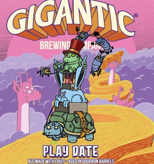 Gigantic Brewing Play Date Collaboration with Three Weavers Brewing