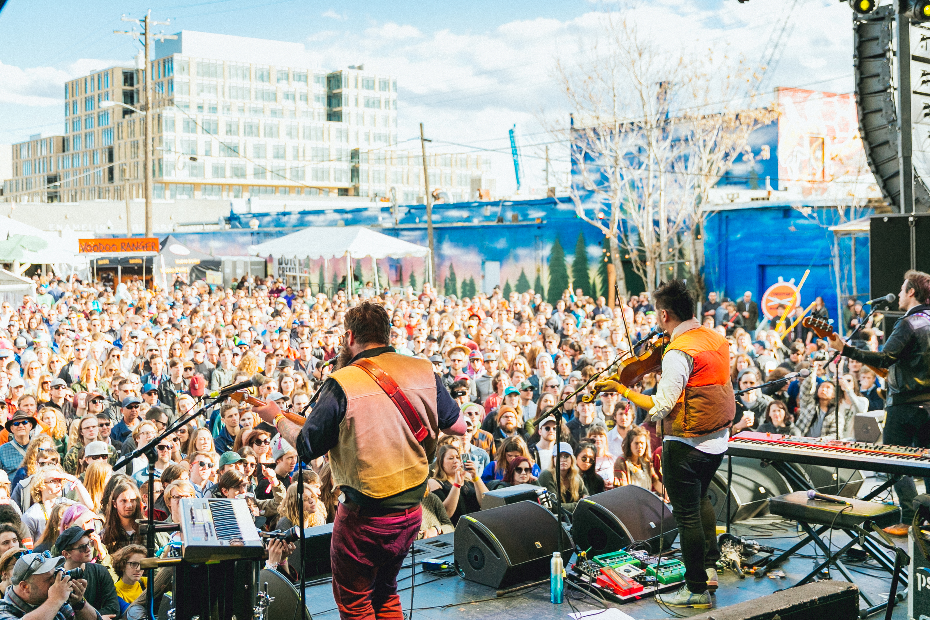 Kishi Bashi on Main Stage - photo by Peter Lovera