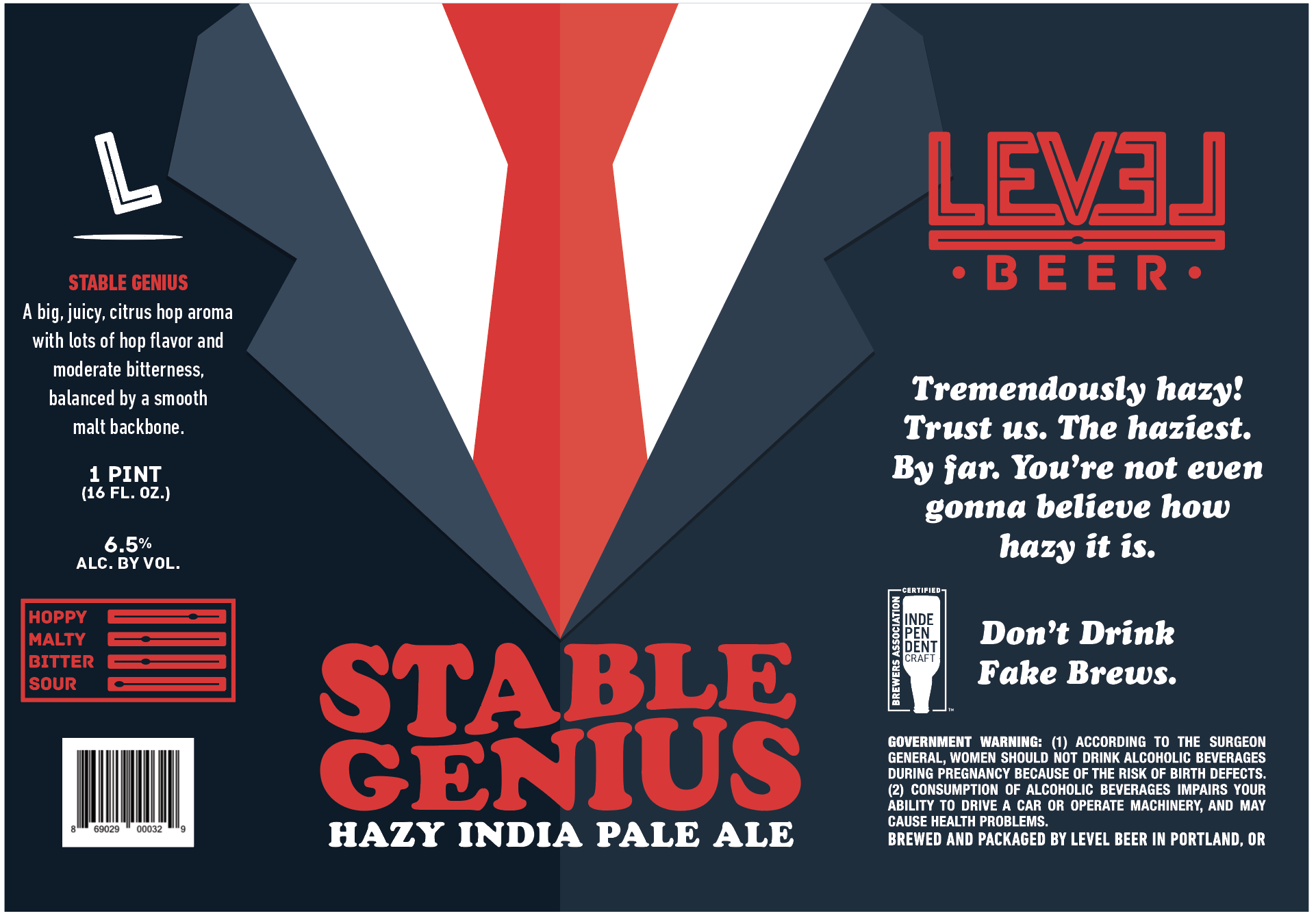 Level Beer Releases Stable Genius Hazy Ipa On Easter Sunday