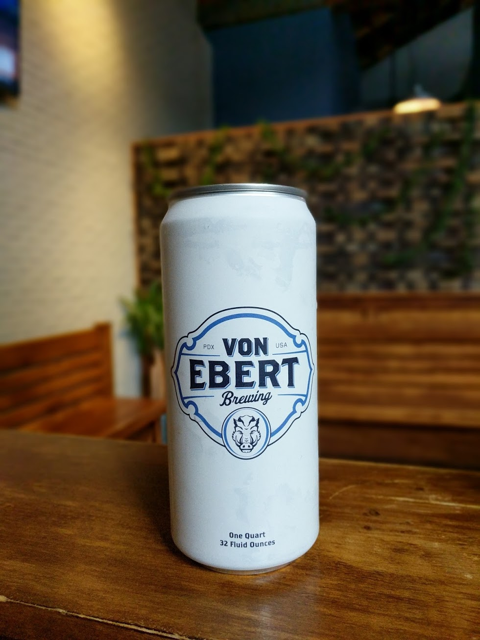Von Ebert Brewing will fill 32 ounce Crowlers. (photo by Nick Rivers)