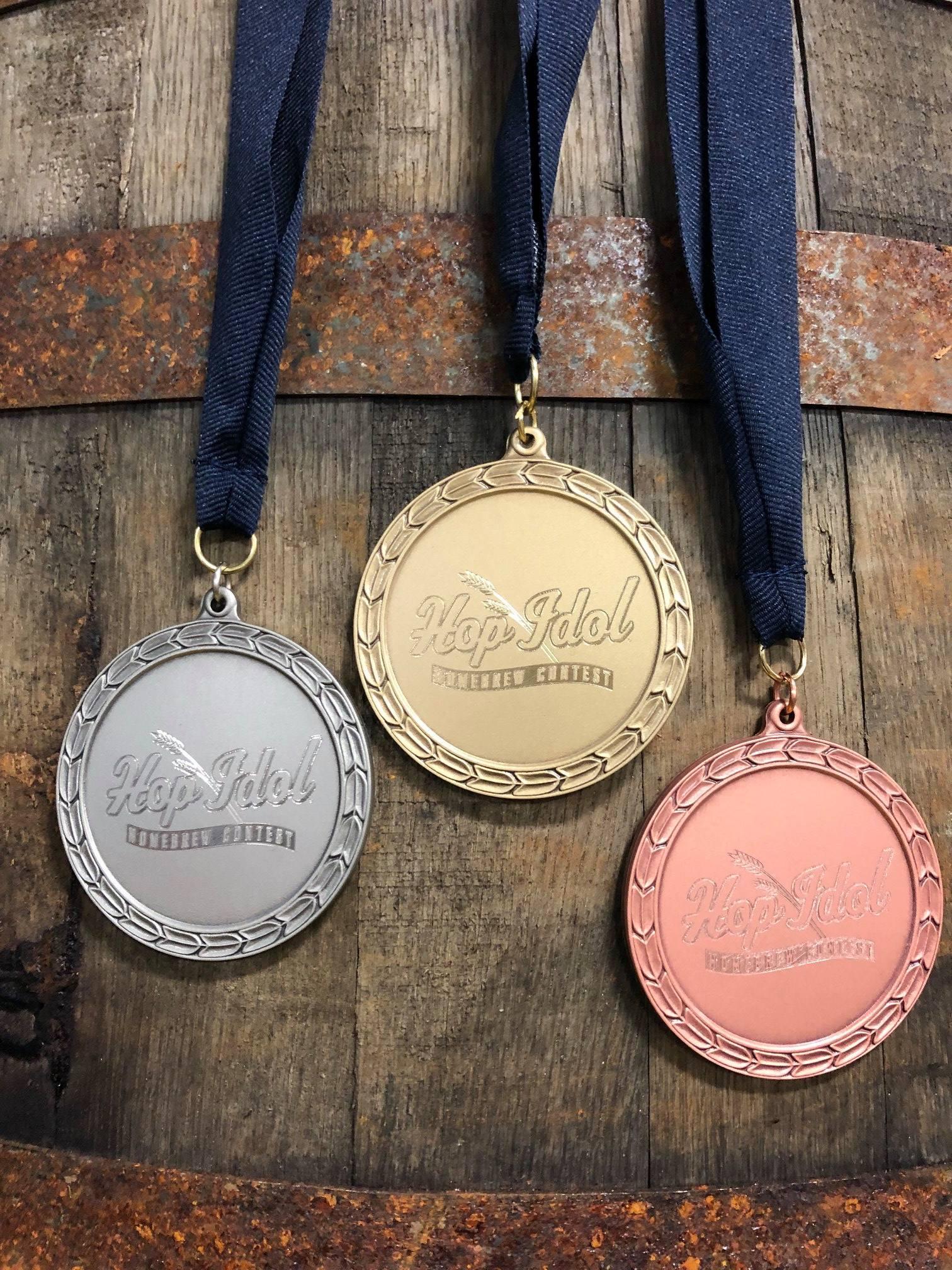 image of Hop Idol Medals courtesy of Reuben's Brews