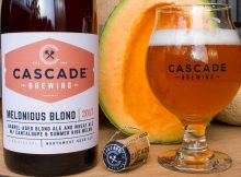 image of Melonius Blond courtesy of Cascade Brewing