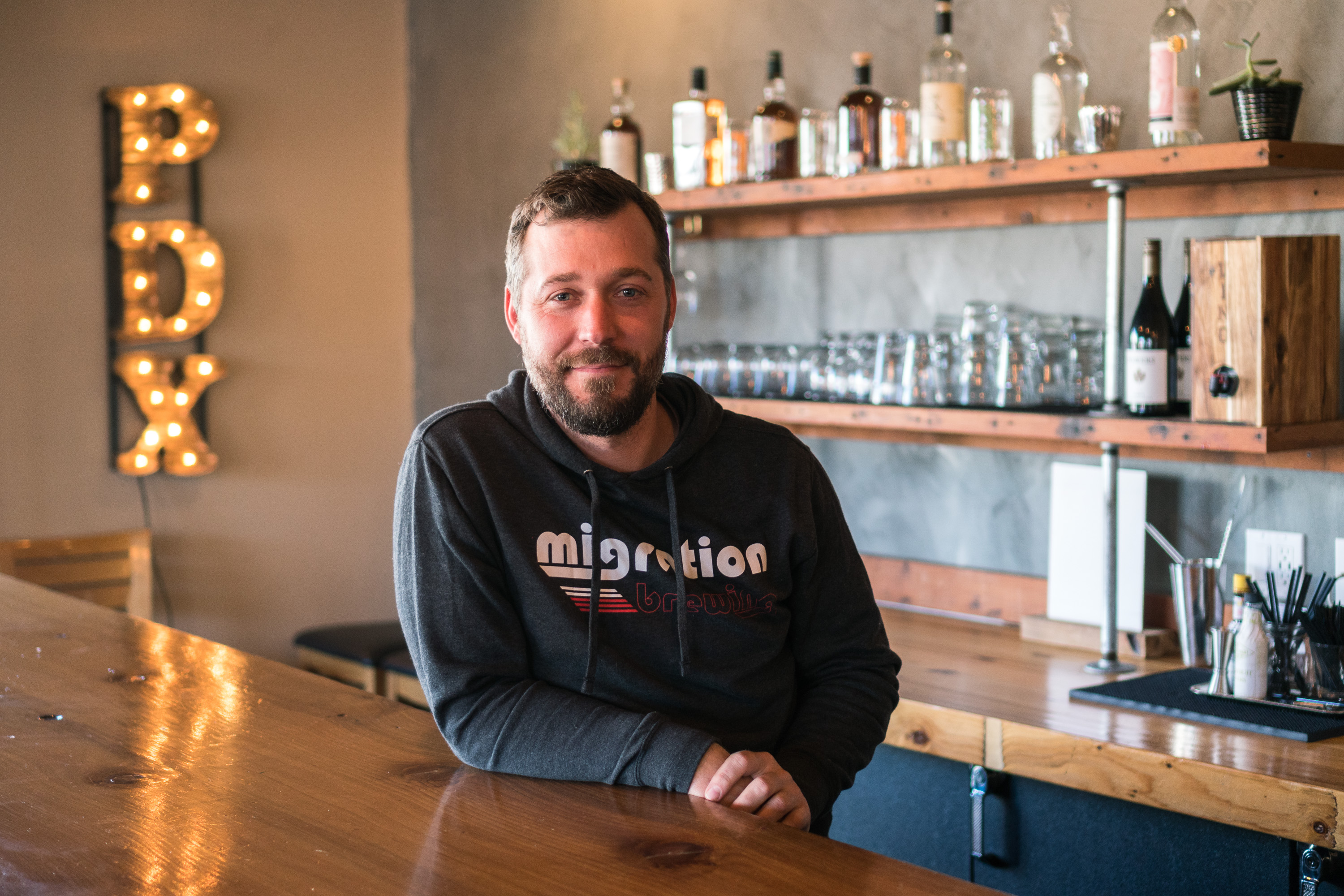 image of Trever Bass courtesy of Migration Brewing