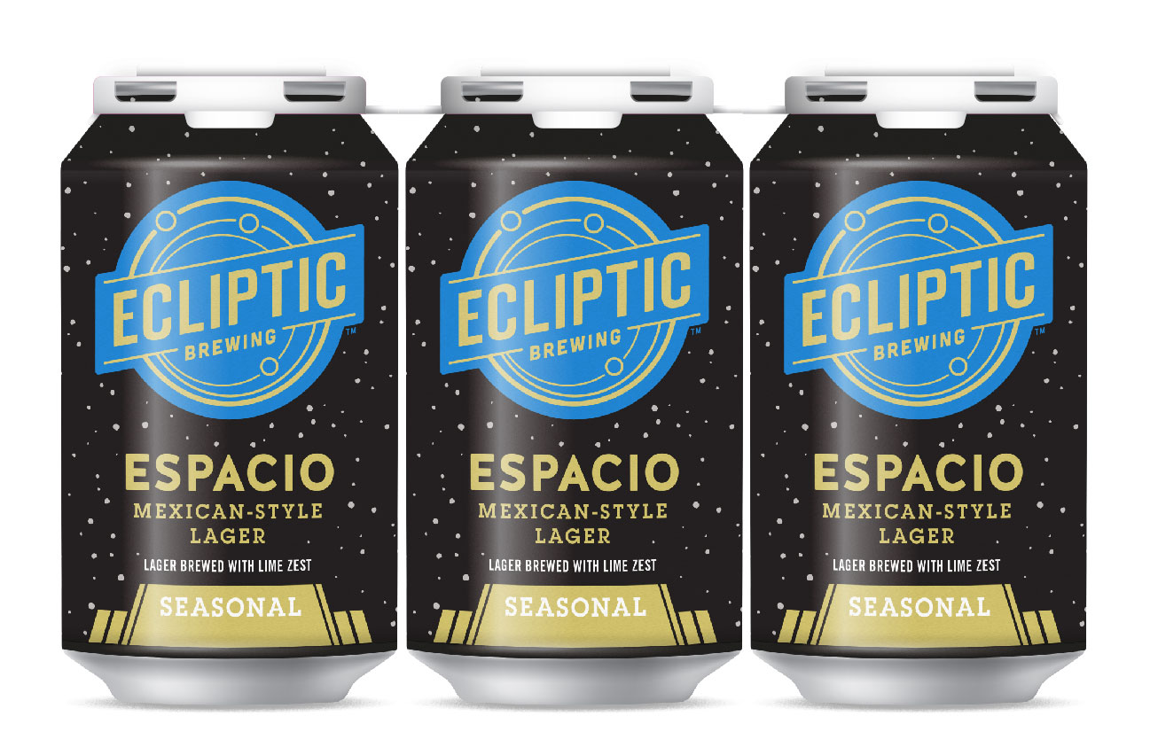 Ecliptic Brewing Espacio Mexican Style Lager Brewed with Lime Zest