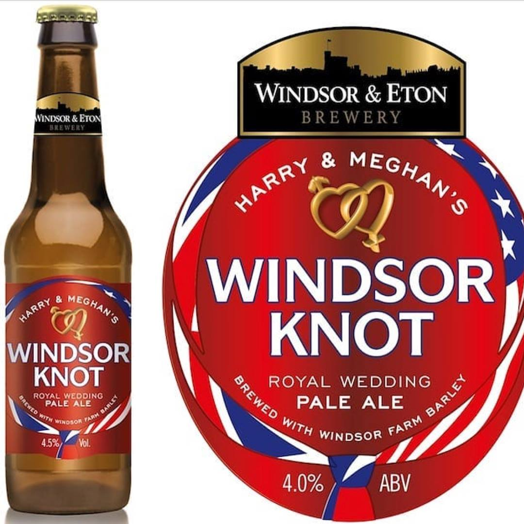 Hops from the Yakima Valley can be found in the royal brew specially crafted by Windsor & Eton Brewery created to celebrate the royal wedding between Prince Harry and Meghan Markle.