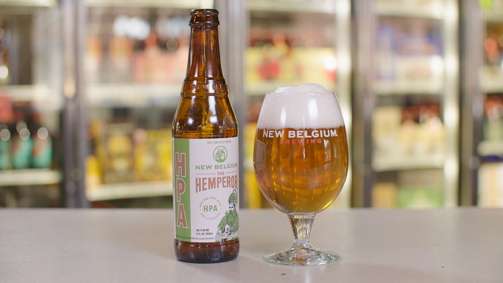 image of The Hemperor HPA courtesy of New Belgium Brewing