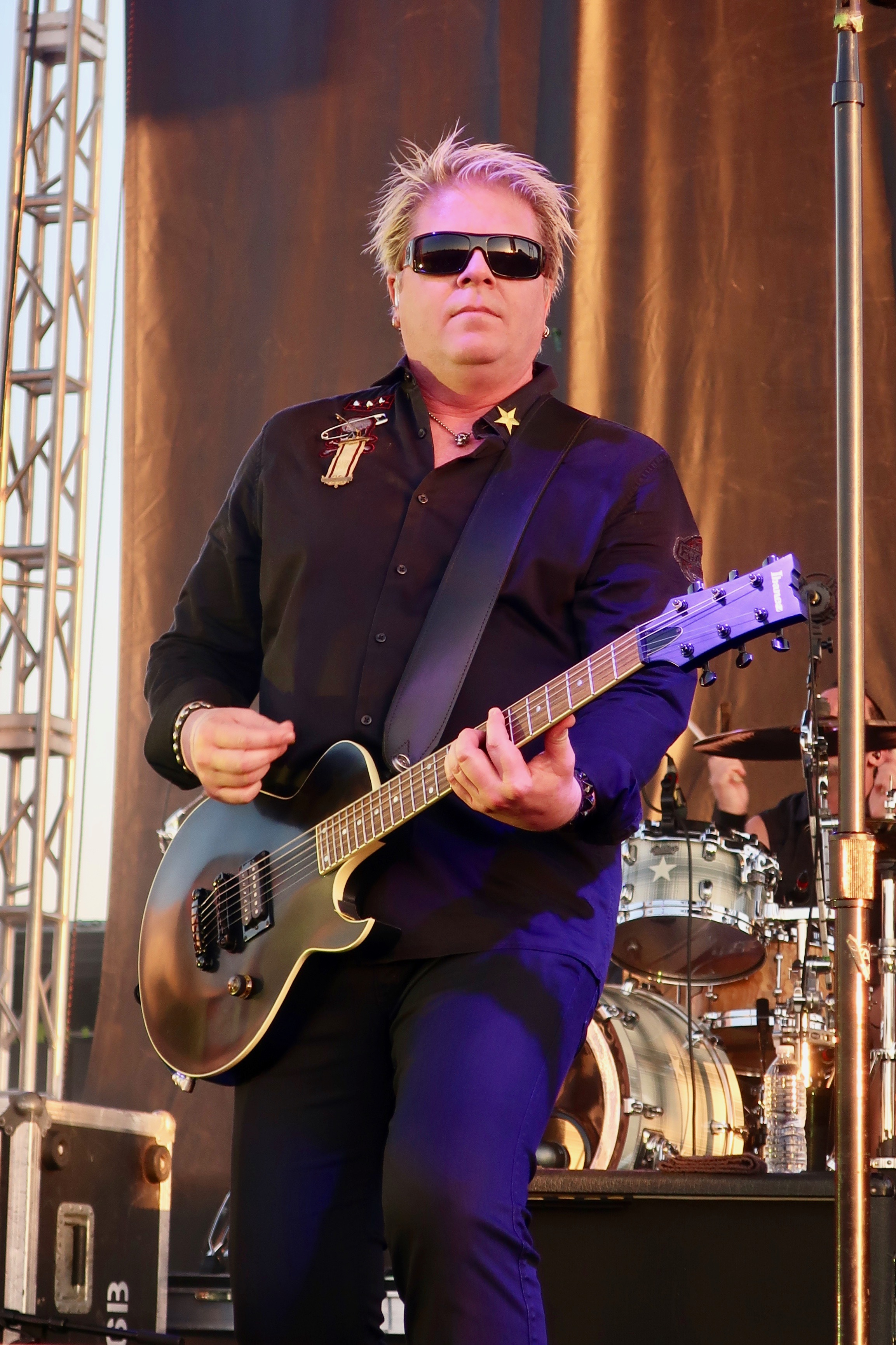 Dexter Holland of The Offspring at the 2018 stop of Sabroso Craft Beer, Taco & Music Festival in Portland, Oregon.