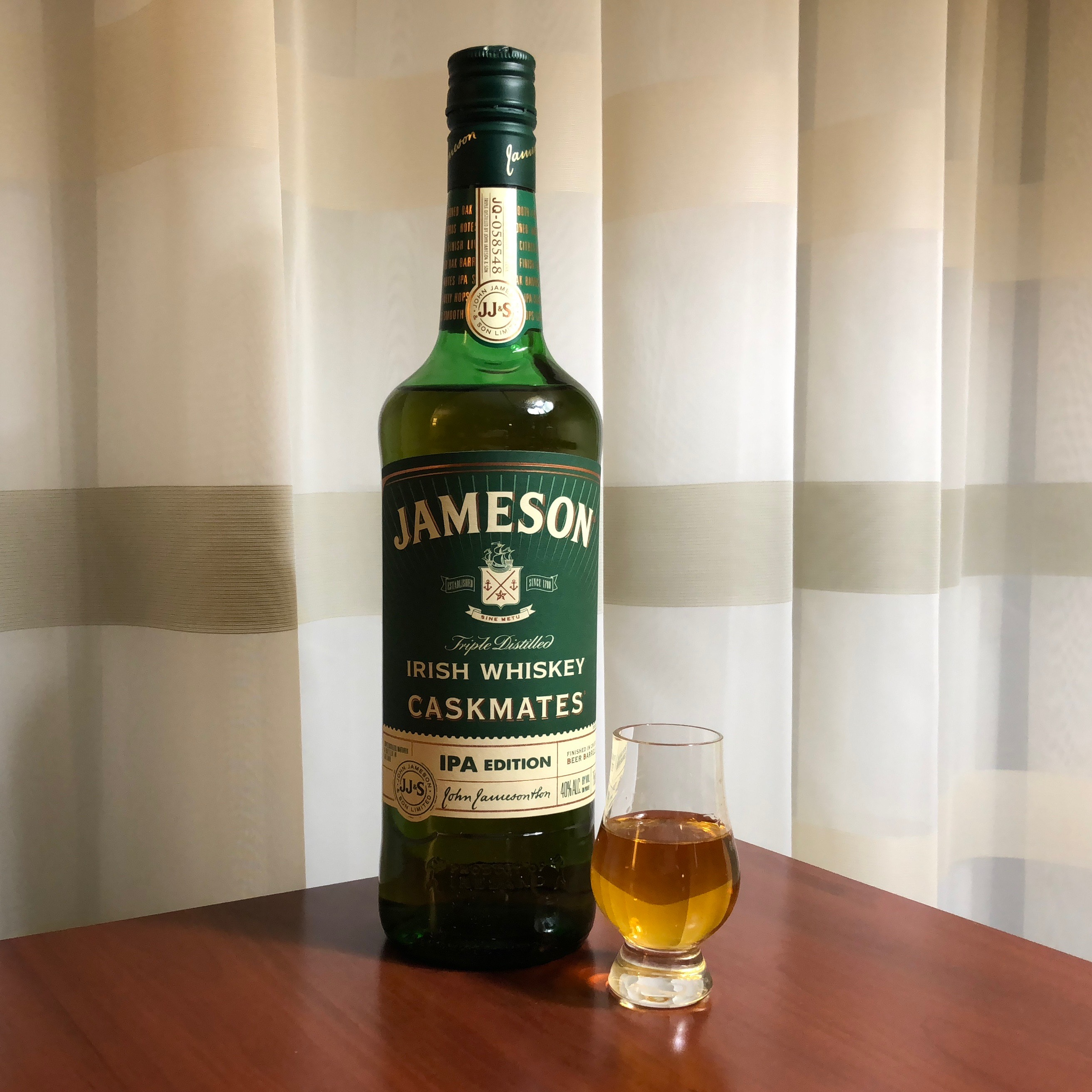 The new Jamesons Caskmates IPA Edition.