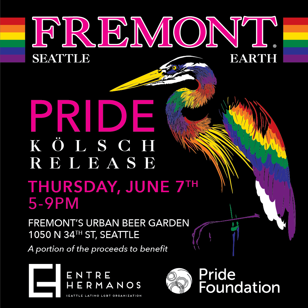 Fremont Brewing Releases Pride Kolsch For Pride Month