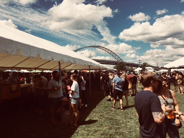 Last weekend's 2018 Portland Craft Beer Festival was a fine event thanks to lots of great beer including co-sponsor BridgePort Brewing's new Rose IPA and a great setting and perfect weather for a beer festival. (FoystonFoto)