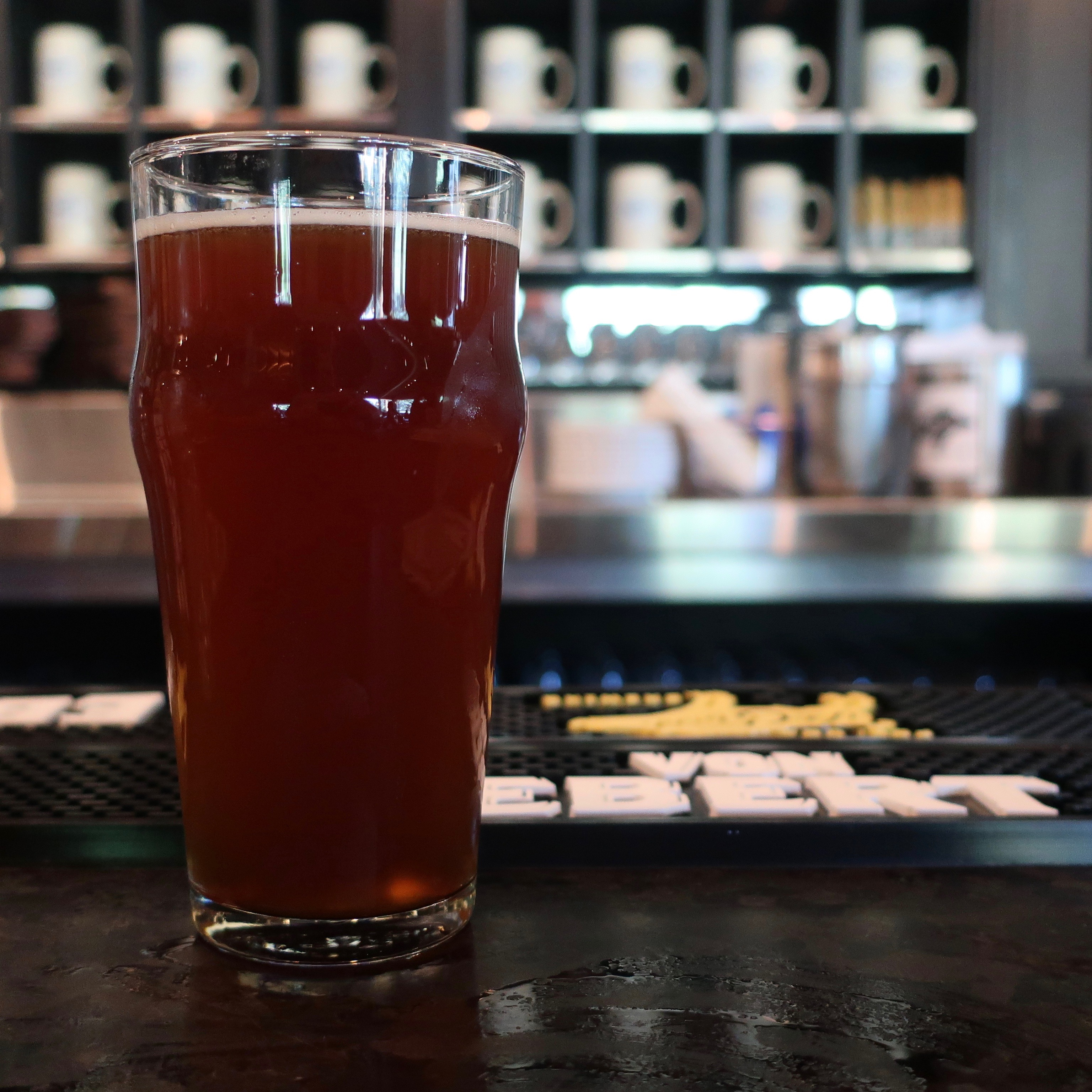 A beer at Von Ebert Brewing – East.