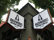 Backwoods In The Pearl is located in Portland's Brewery Blocks.
