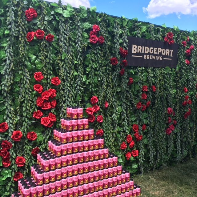 BridgePort Rosé IPAn was everywhere during the 2018 Portland Craft Beer Festival. (FoystonFoto)