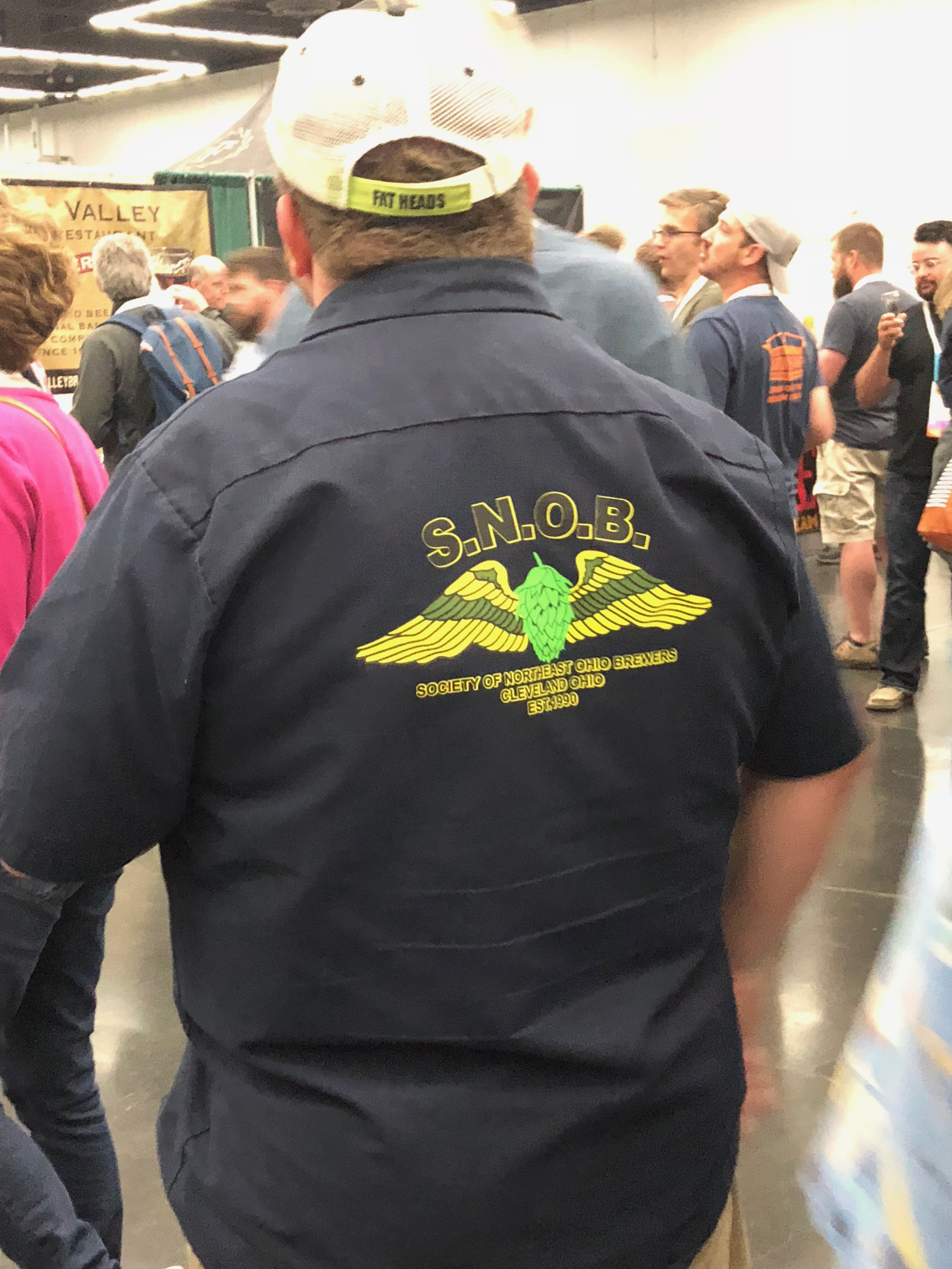 S.N.O.B. (Supporters of Northwest Ohio Brewers) during the Homebrew Con 2018 Kickoff Party.