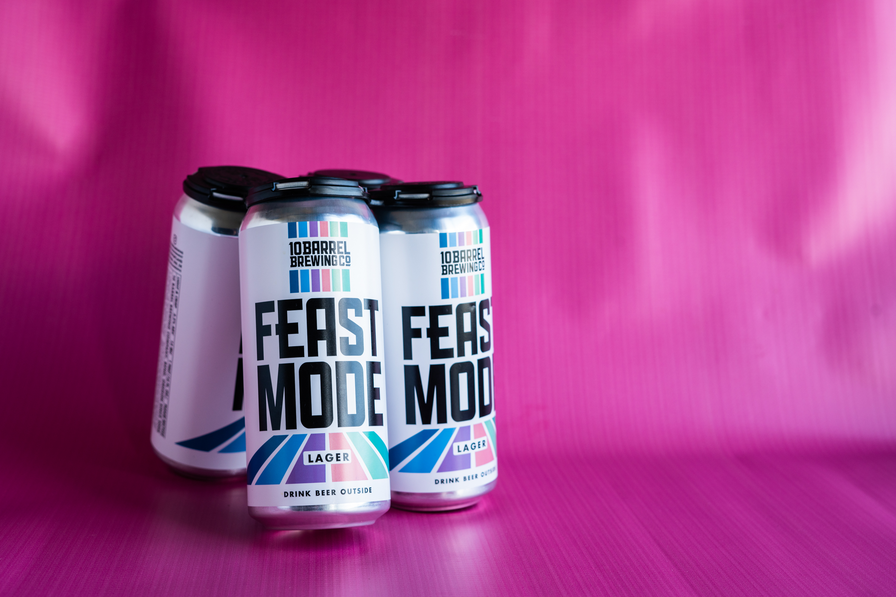 image of 10 Barrel Brewing Feast Mode Lager courtesy of Feast Portland and New Seasons Market
