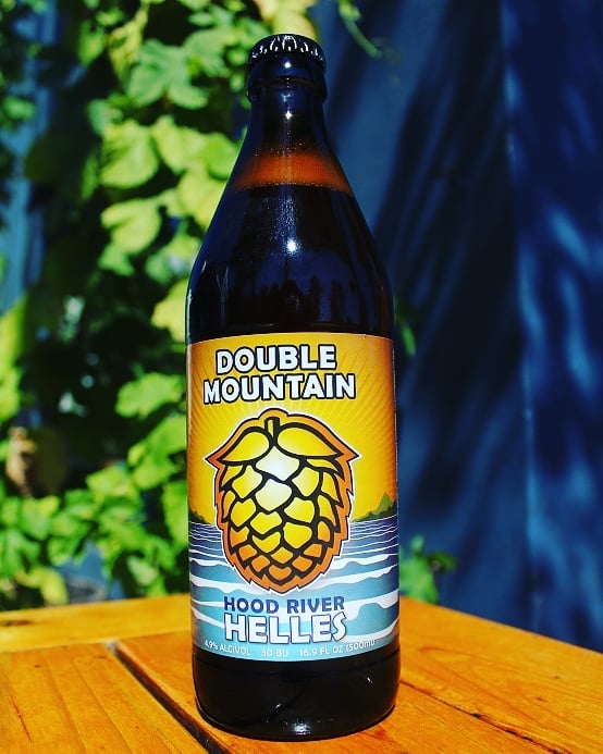 image of Hood River Helles courtesy of Double Mountain Brewery