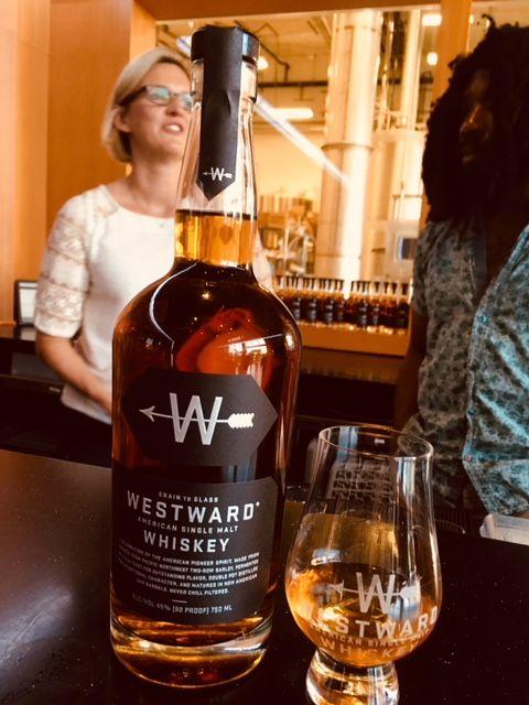 Westward American Single Malt Whiskey. (FoystonFoto)