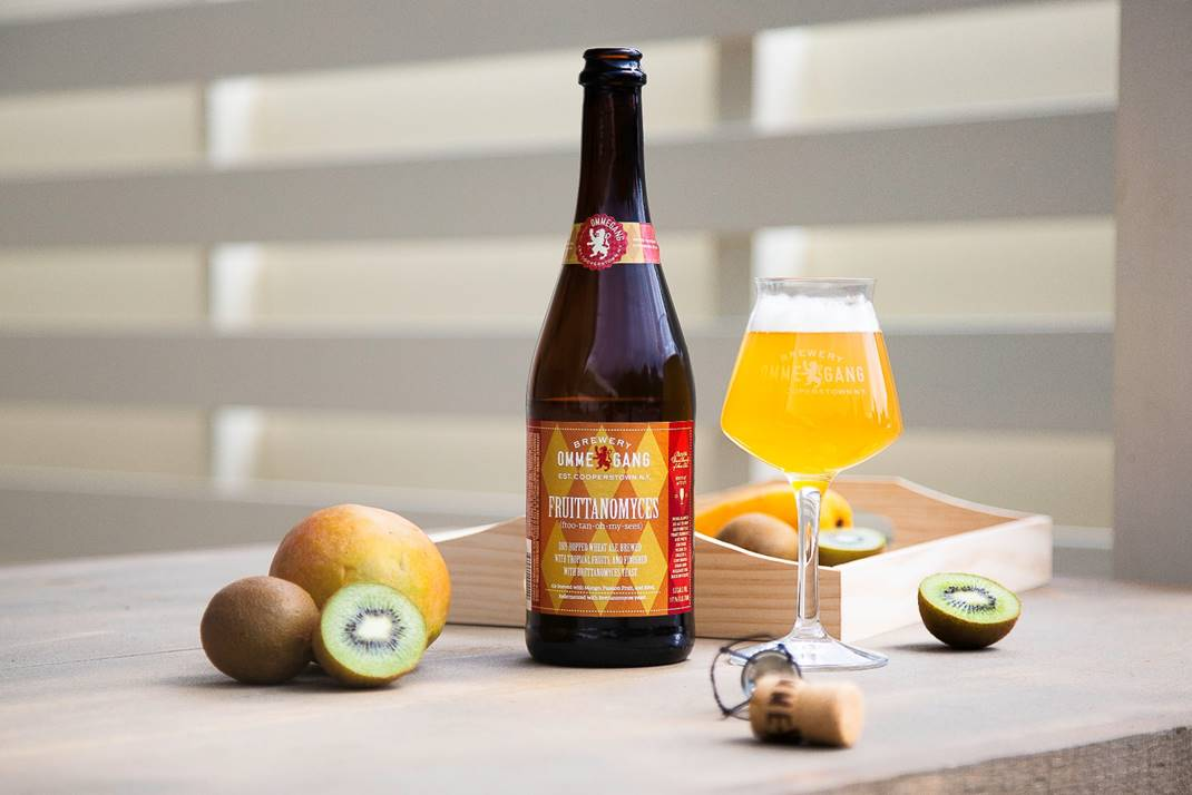 image of Fruittanomyces – Dry Hopped Wit Beer courtesy of Brewery Ommegang