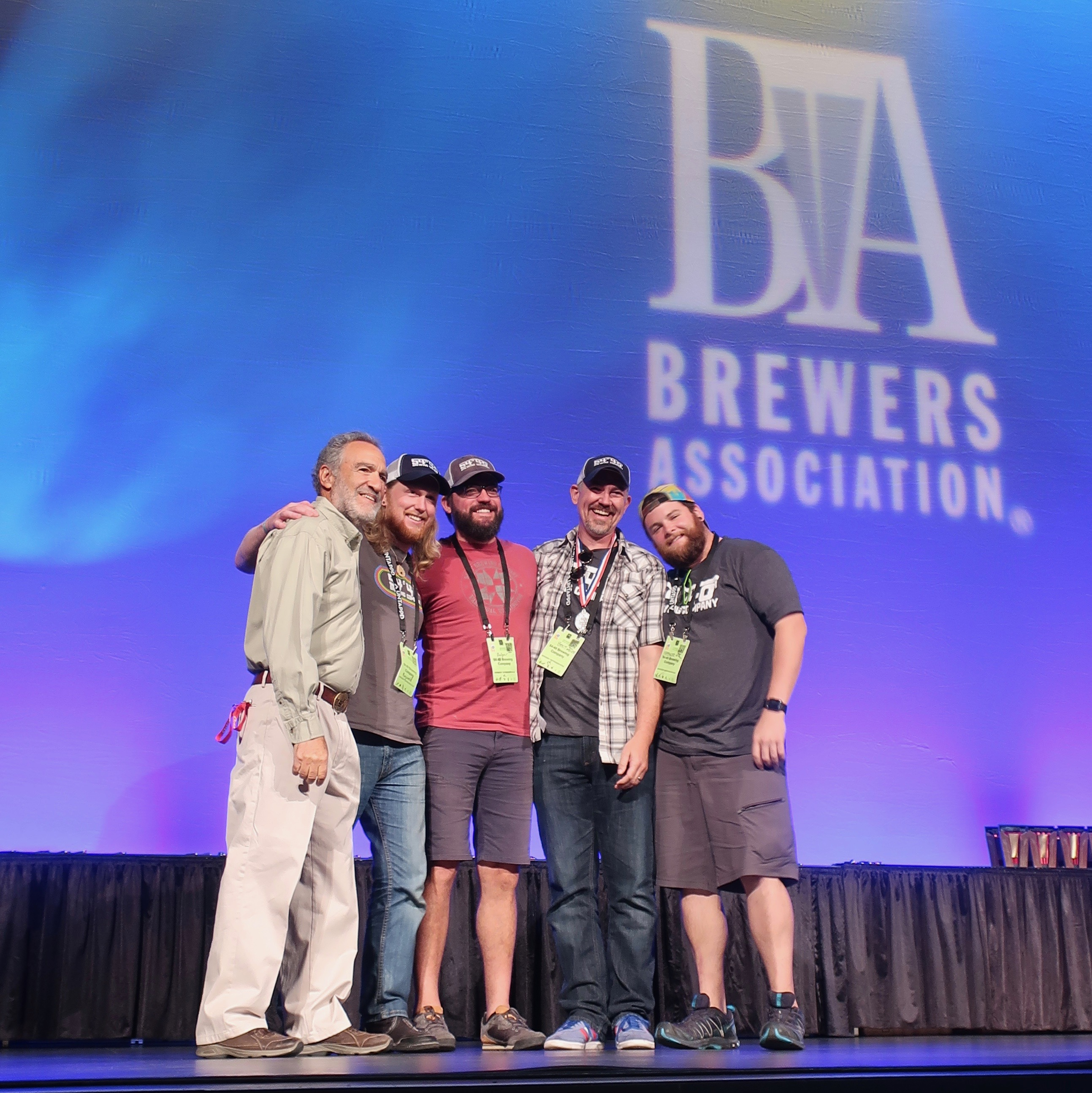 54°40' Brewing win a Silver Medal at the 2018 Great American Beer Festival.