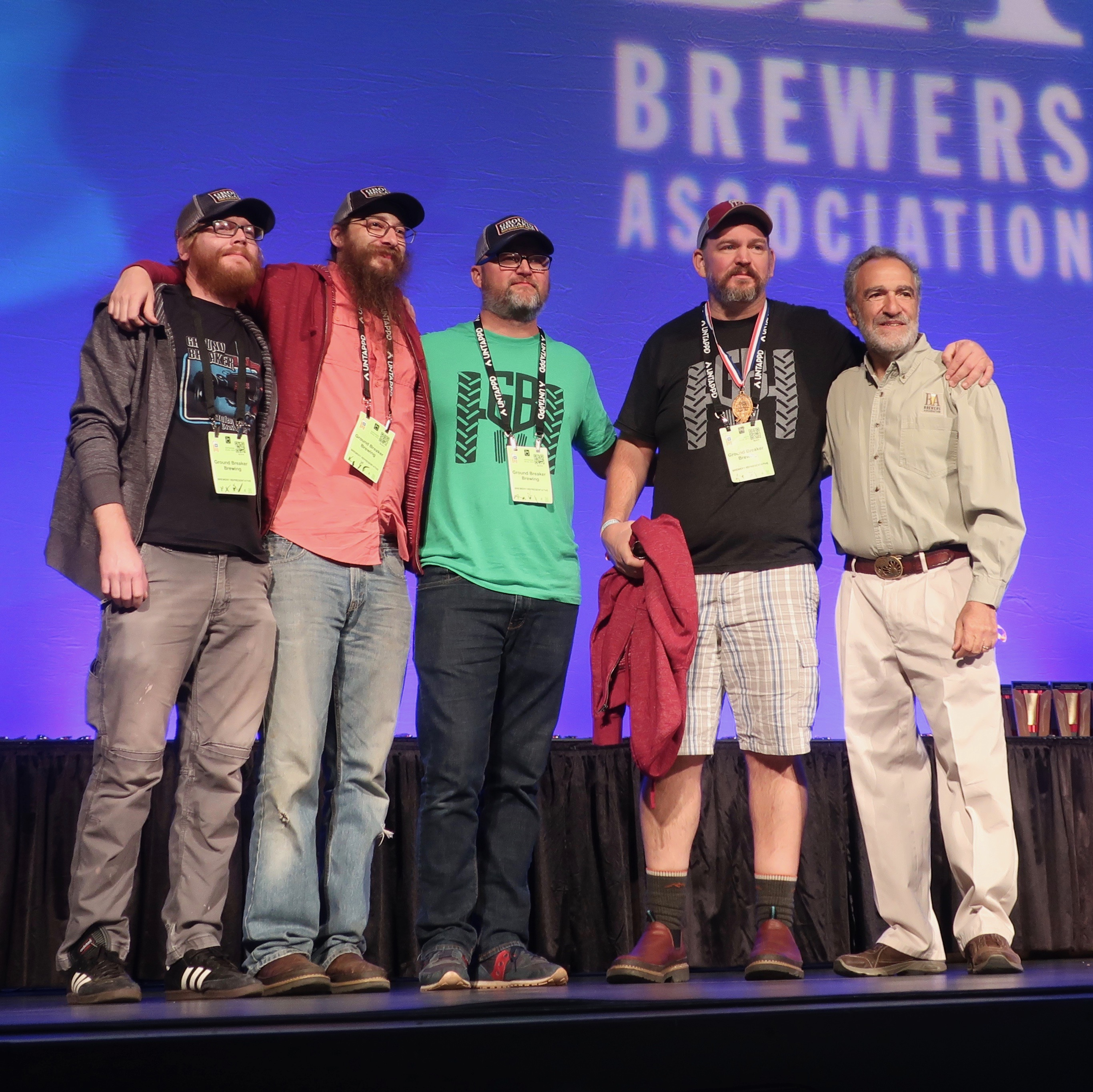 Ground Breaker Brewing continues its streak of medaling in the Gluten Free Category for seven consecutive years at the 2018 Great American Beer Festival.