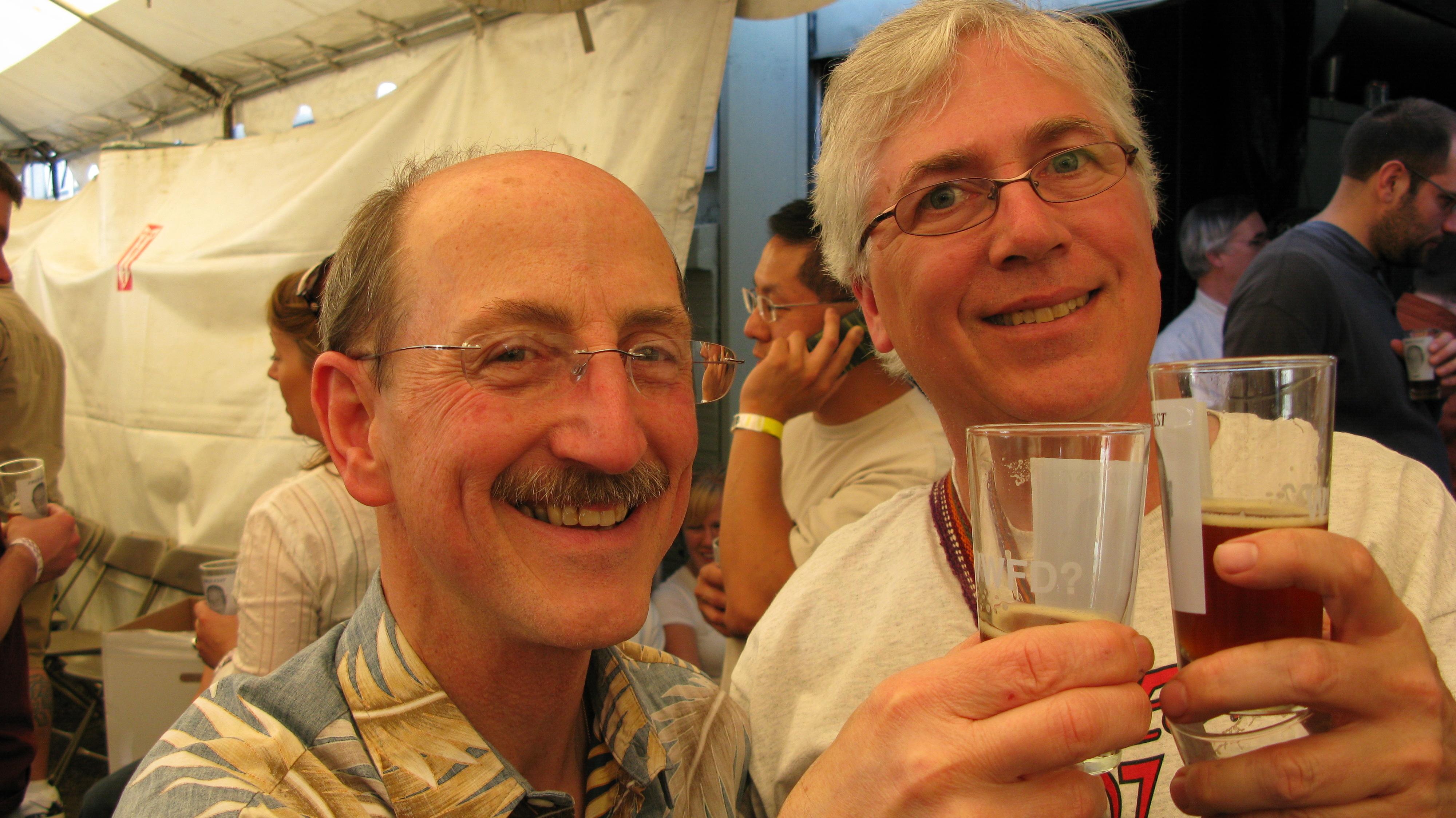 Mike Moscarelli and Noel Blake. (FoystonFoto)