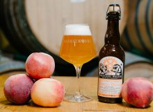 image of Barrelworks Peachy Bones courtesy of Firestone Walker Brewing