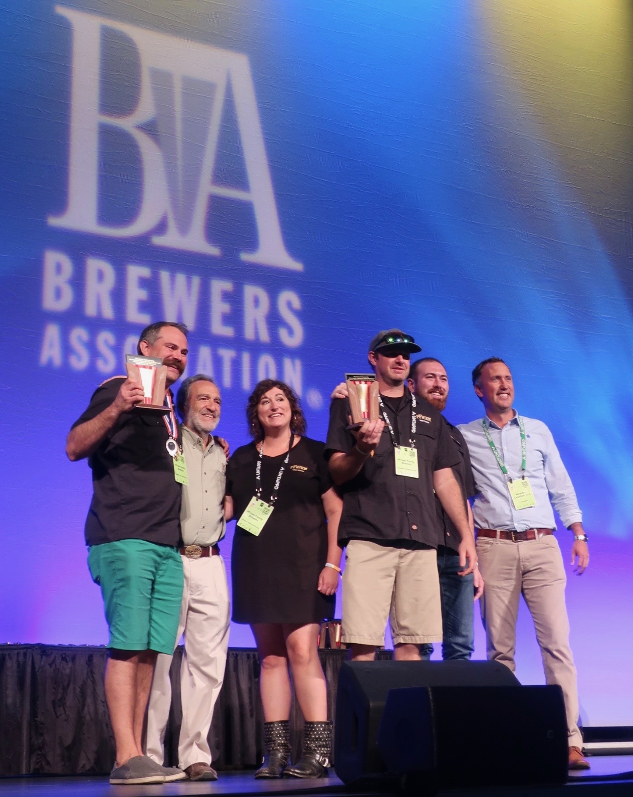 pFriem Family Brewers take home the Mid Size Brewing Company of the Year Award at the 2018 Great American Beer Festival.