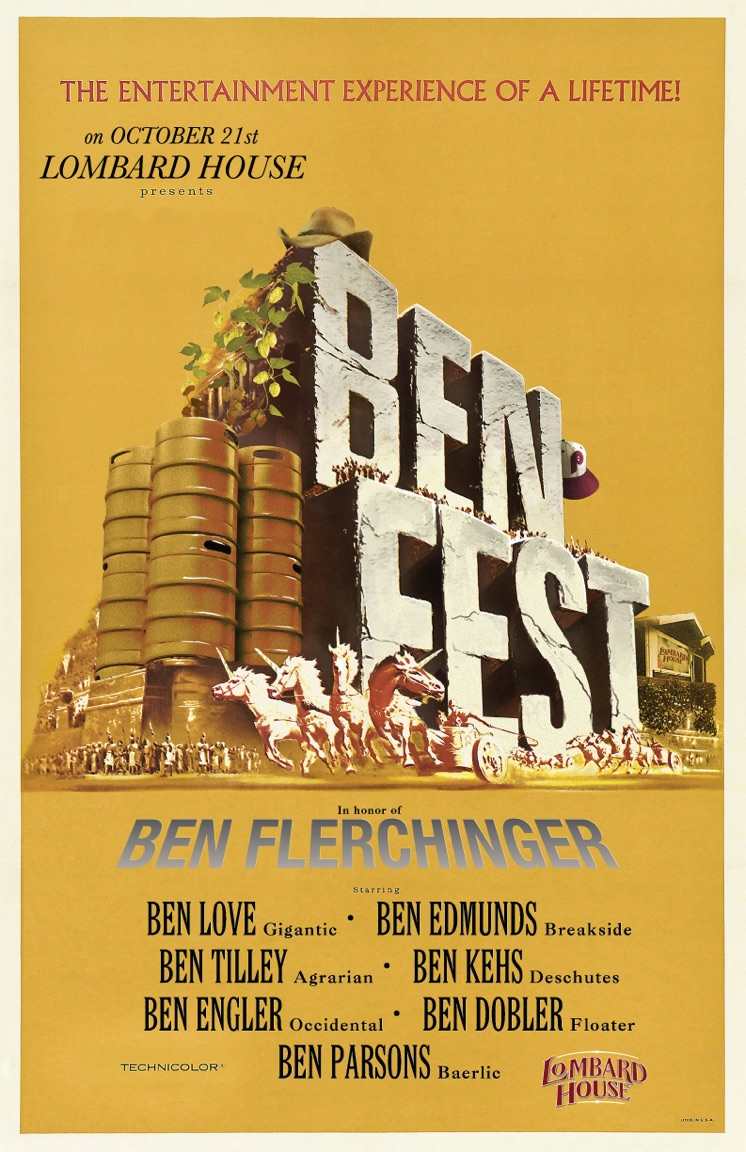 Lombard House To Host 8th Annual BenFest on October 21, 2018
