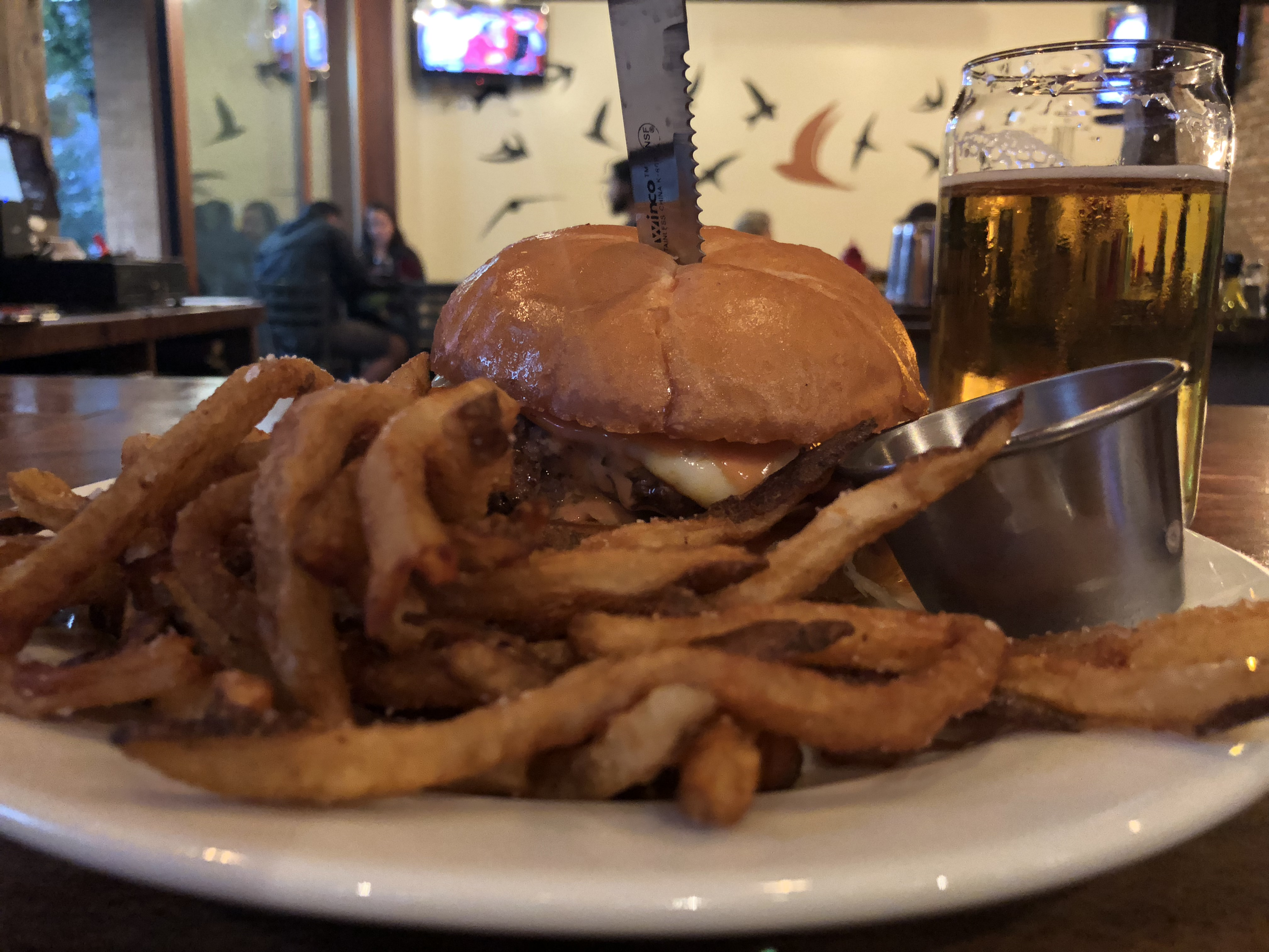 The Ankeny Burger at Avenue 23 Tap & Table.