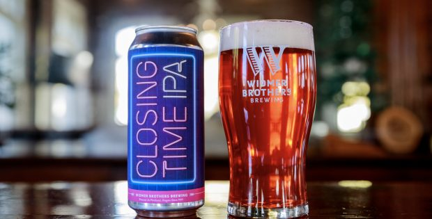 image of Closing Time IPA courtesy of Widmer Brothers Brewing