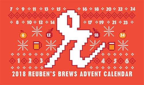 2018 Reuben's Brews Advent Calendar
